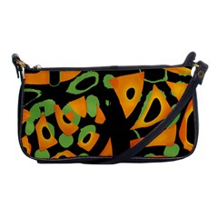 Abstract Animal Print Shoulder Clutch Bags