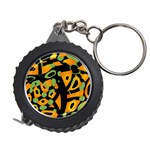 Abstract animal print Measuring Tapes Front
