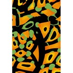 Abstract animal print 5.5  x 8.5  Notebooks Back Cover Inside