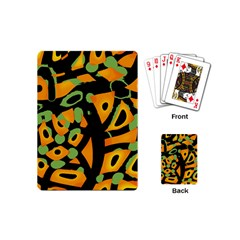 Abstract Animal Print Playing Cards (mini)