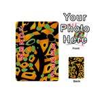 Abstract animal print Playing Cards 54 (Mini)  Front - Joker2