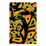 Abstract animal print Shower Curtain 48  x 72  (Small)  42.18 x64.8 Curtain