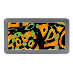 Abstract Animal Print Memory Card Reader (mini)