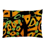 Abstract animal print Pillow Case (Two Sides) Back