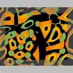 Abstract animal print Deluxe Canvas 16  x 12   16  x 12  x 1.5  Stretched Canvas