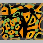 Abstract animal print Deluxe Canvas 24  x 20   24  x 20  x 1.5  Stretched Canvas