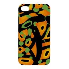 Abstract animal print Apple iPhone 4/4S Hardshell Case
