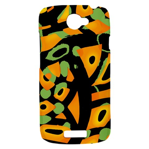 Abstract animal print HTC One S Hardshell Case