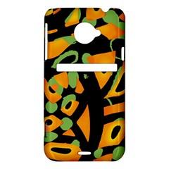 Abstract animal print HTC Evo 4G LTE Hardshell Case