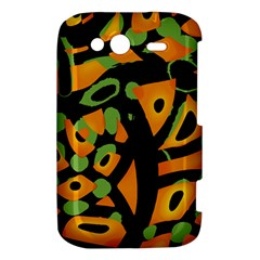 Abstract animal print HTC Wildfire S A510e Hardshell Case