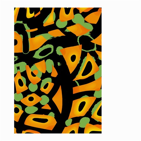 Abstract animal print Small Garden Flag (Two Sides)