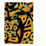 Abstract animal print Small Garden Flag (Two Sides) Back