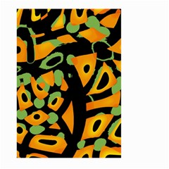 Abstract Animal Print Large Garden Flag (two Sides)