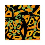 Abstract animal print Acrylic Tangram Puzzle (6  x 6 ) Front