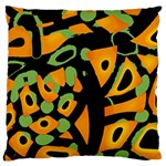 Abstract animal print Large Cushion Case (One Side) Front