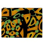Abstract animal print Cosmetic Bag (XXL)  Front