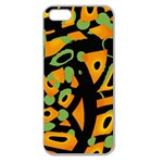 Abstract animal print Apple Seamless iPhone 5 Case (Clear) Front