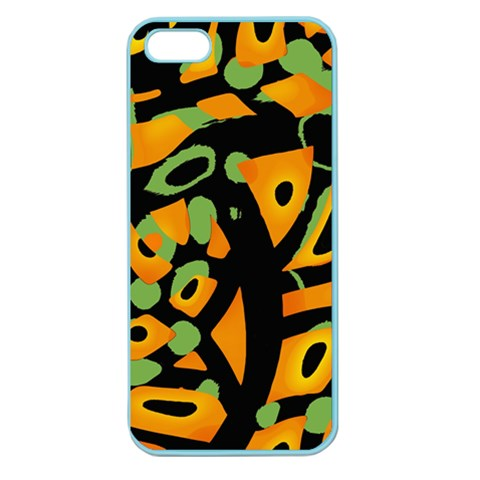Abstract animal print Apple Seamless iPhone 5 Case (Color)