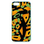 Abstract animal print Apple Seamless iPhone 5 Case (Color) Front