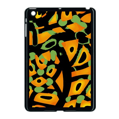 Abstract animal print Apple iPad Mini Case (Black)