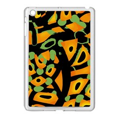 Abstract Animal Print Apple Ipad Mini Case (white)
