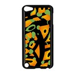 Abstract animal print Apple iPod Touch 5 Case (Black) Front