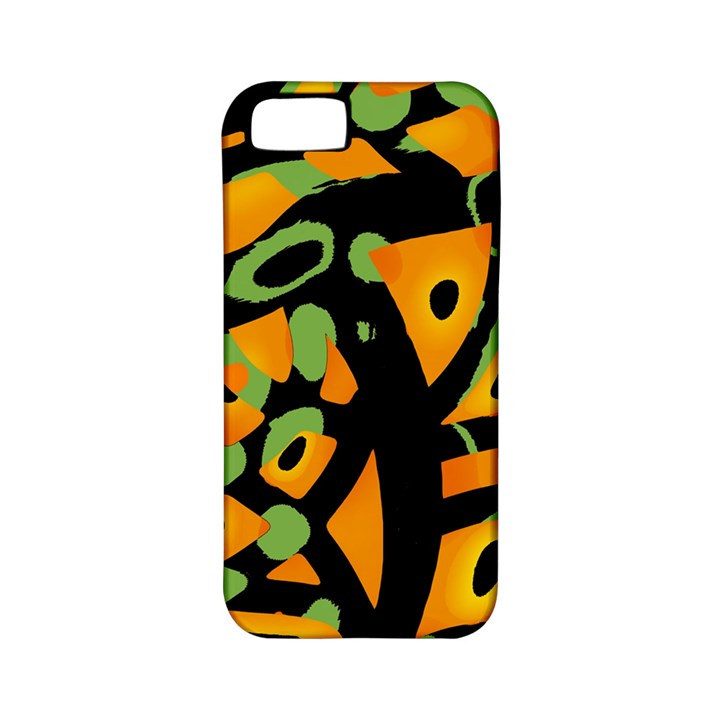Abstract animal print Apple iPhone 5 Classic Hardshell Case (PC+Silicone)