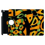Abstract animal print Apple iPad 2 Flip 360 Case Front