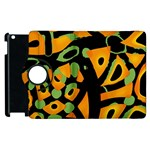 Abstract animal print Apple iPad 3/4 Flip 360 Case Front