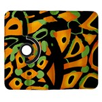 Abstract animal print Samsung Galaxy Note II Flip 360 Case Front