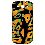 Abstract animal print Samsung Galaxy S3 S III Classic Hardshell Back Case Front