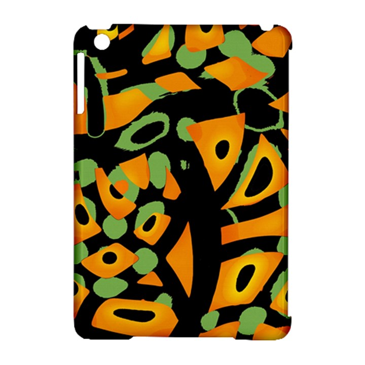 Abstract animal print Apple iPad Mini Hardshell Case (Compatible with Smart Cover)