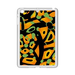 Abstract Animal Print Ipad Mini 2 Enamel Coated Cases