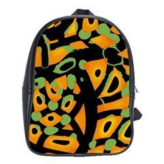 Abstract Animal Print School Bags (xl)