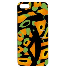 Abstract Animal Print Apple Iphone 5 Hardshell Case With Stand