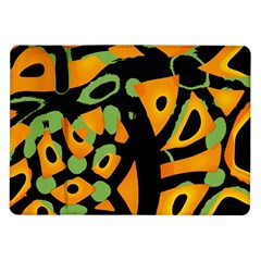 Abstract Animal Print Samsung Galaxy Tab 10 1  P7500 Flip Case