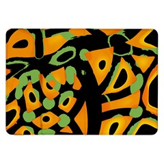 Abstract animal print Samsung Galaxy Tab 8.9  P7300 Flip Case