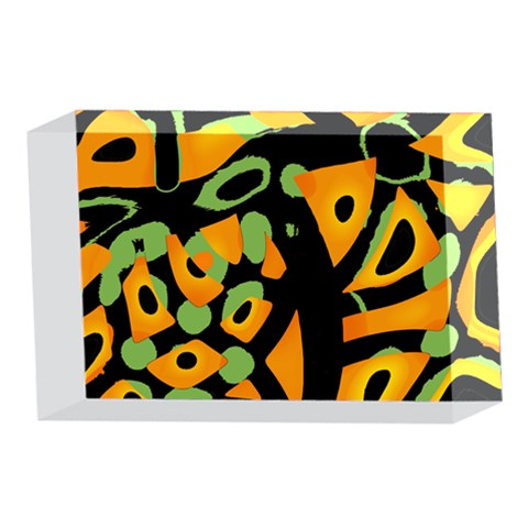 Abstract animal print 4 x 6  Acrylic Photo Blocks