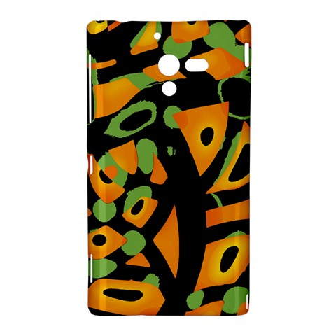 Abstract animal print Sony Xperia ZL (L35H)