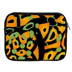 Abstract animal print Apple iPad 2/3/4 Zipper Cases Front