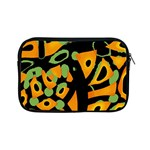 Abstract animal print Apple iPad Mini Zipper Cases Front