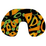 Abstract animal print Travel Neck Pillows Back