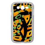 Abstract animal print Samsung Galaxy Grand DUOS I9082 Case (White) Front