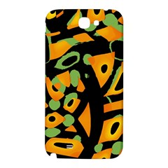 Abstract animal print Samsung Note 2 N7100 Hardshell Back Case