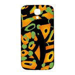 Abstract animal print Samsung Galaxy S4 I9500/I9505  Hardshell Back Case Front
