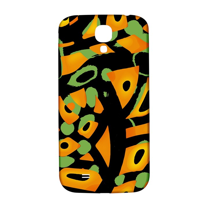 Abstract animal print Samsung Galaxy S4 I9500/I9505  Hardshell Back Case