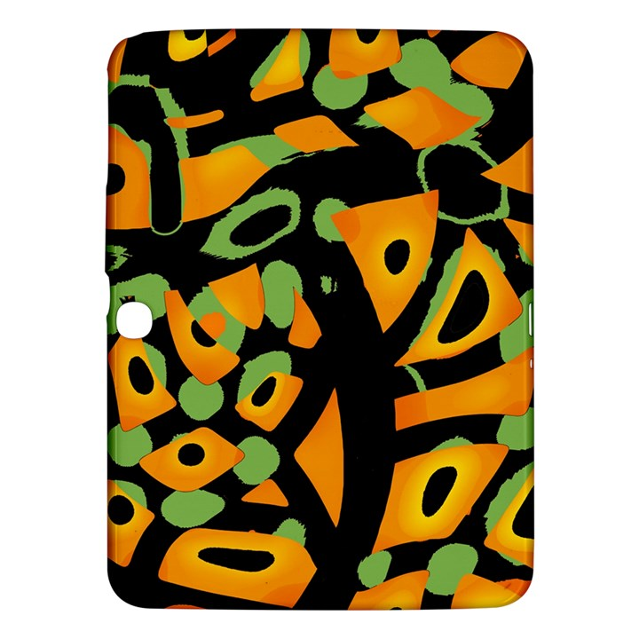 Abstract animal print Samsung Galaxy Tab 3 (10.1 ) P5200 Hardshell Case