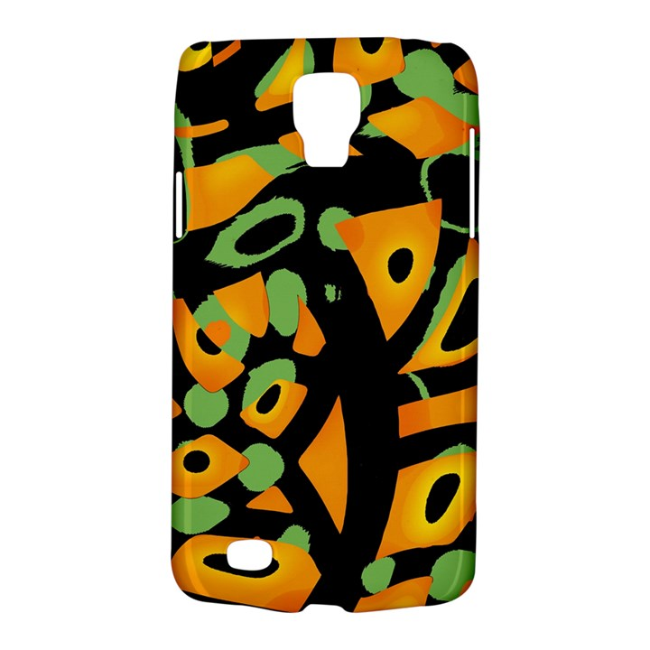 Abstract animal print Galaxy S4 Active
