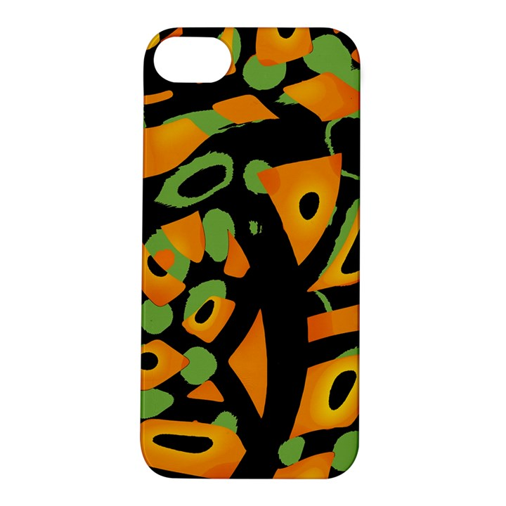 Abstract animal print Apple iPhone 5S/ SE Hardshell Case