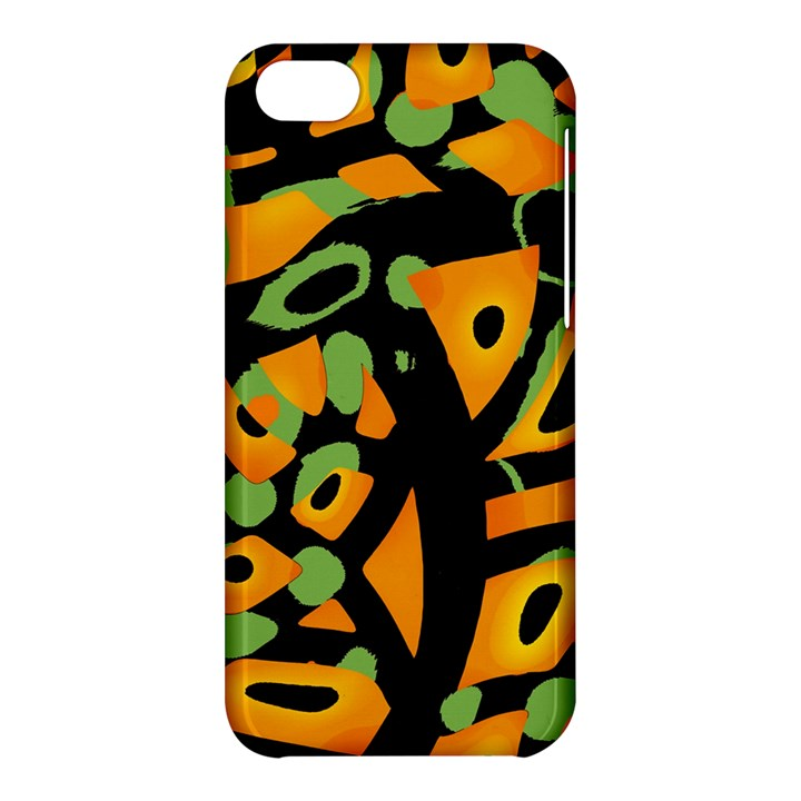 Abstract animal print Apple iPhone 5C Hardshell Case